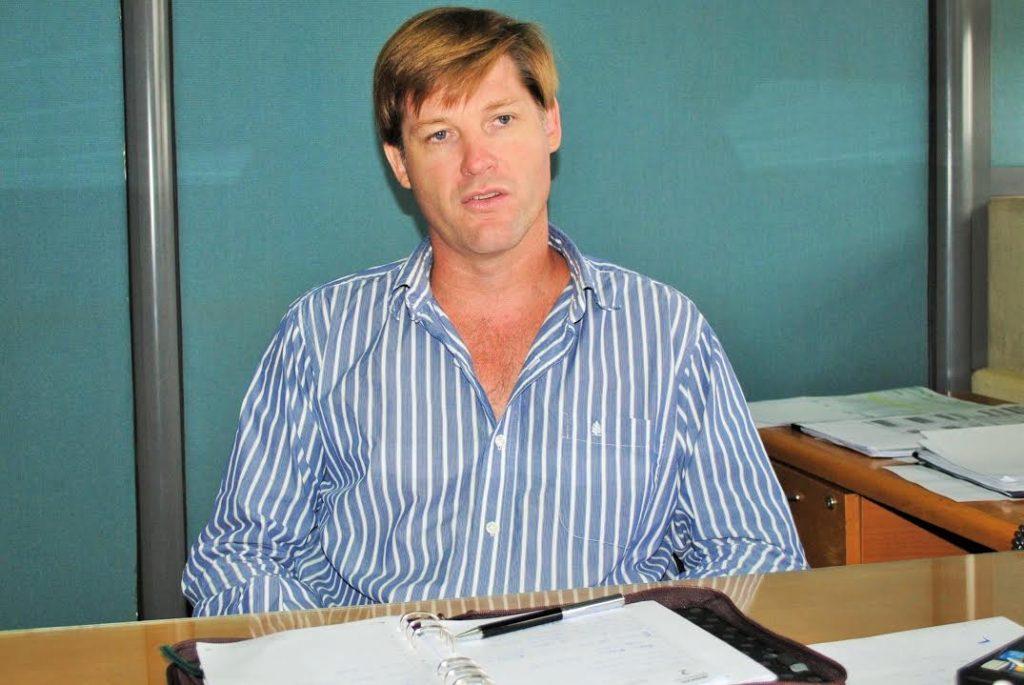 director de Agricultura, Carlos Ferrero