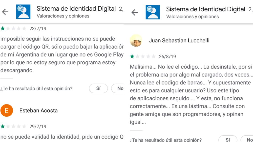 Gobierno Nacional presentó hoy una app de celular que funcionaría como DNI ; pero no funciona.