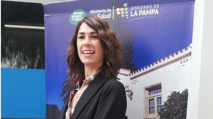 La Odontologa Nerina Hecker es la directora del Hospital de Victorica