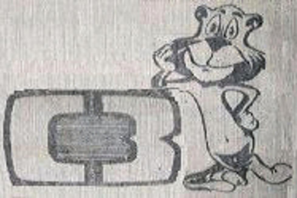 """Icónica e historica imagen del """"Puma"""" de los años '70 de Canal 3 cuando la tv argentina aun carecía de colores."""