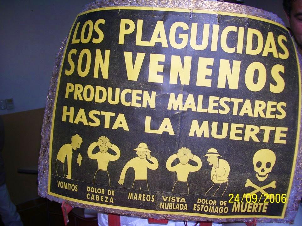 """Colectivo """"La Pampa Libre de Agrotóxicos"""" se sorprende por el doble discurso de la UNLpam al aplicar agrotóxicos."""